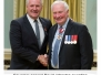 Darryl awarded Sovereigns Medal for Volunteers