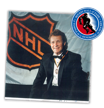 Inducted into the Hockey Hall of Fame.