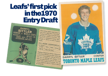 Darry Sittler's Rookie Card